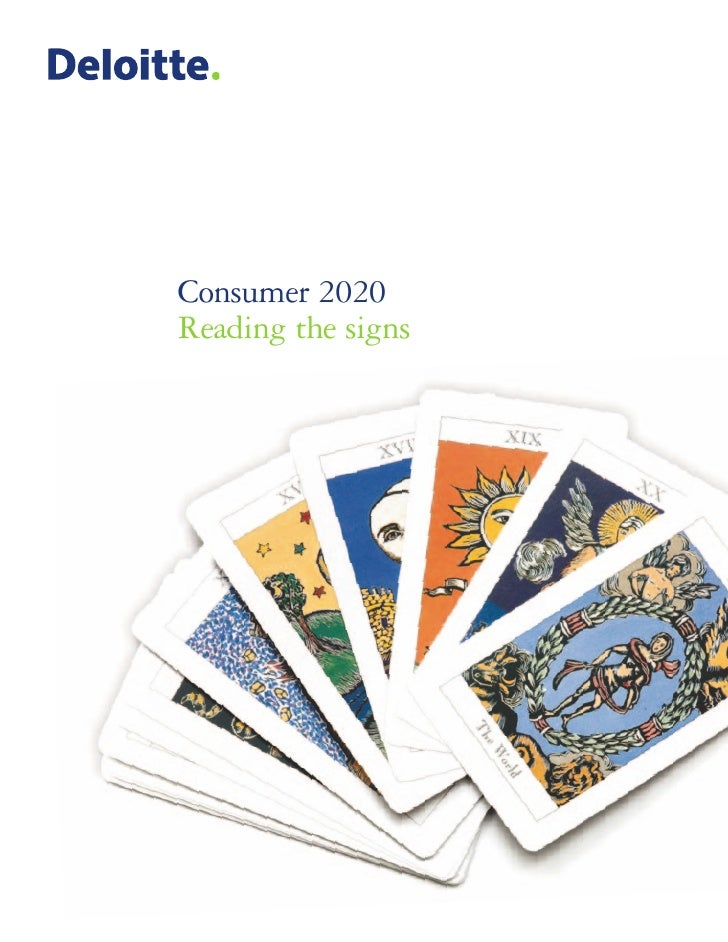 Consumer 2020Reading the signs
