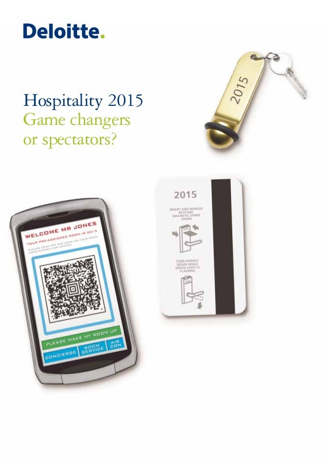 Hospitality 2015Game changersor spectators?