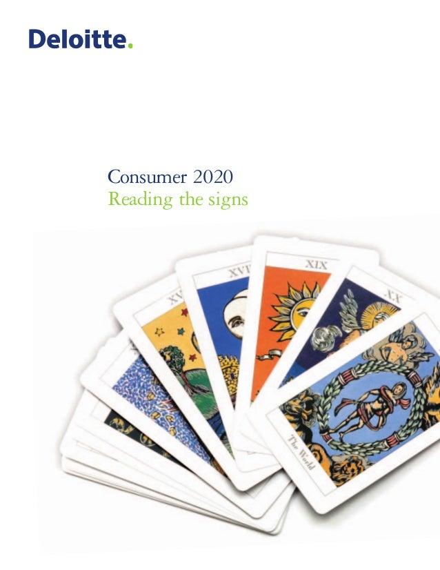 Deloitte reports   consumer 2020