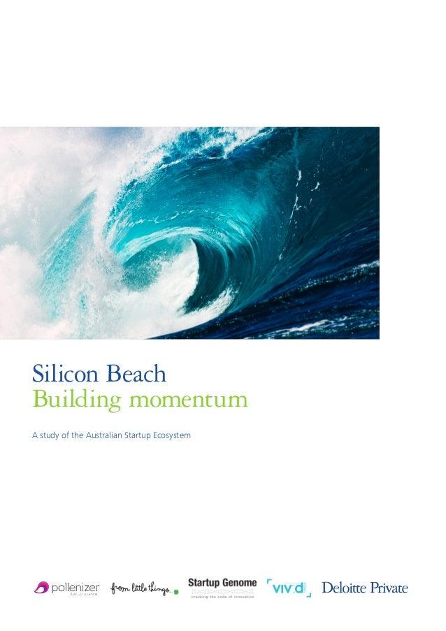 Deloitte Silicon Beach Australian Startup Ecosystem