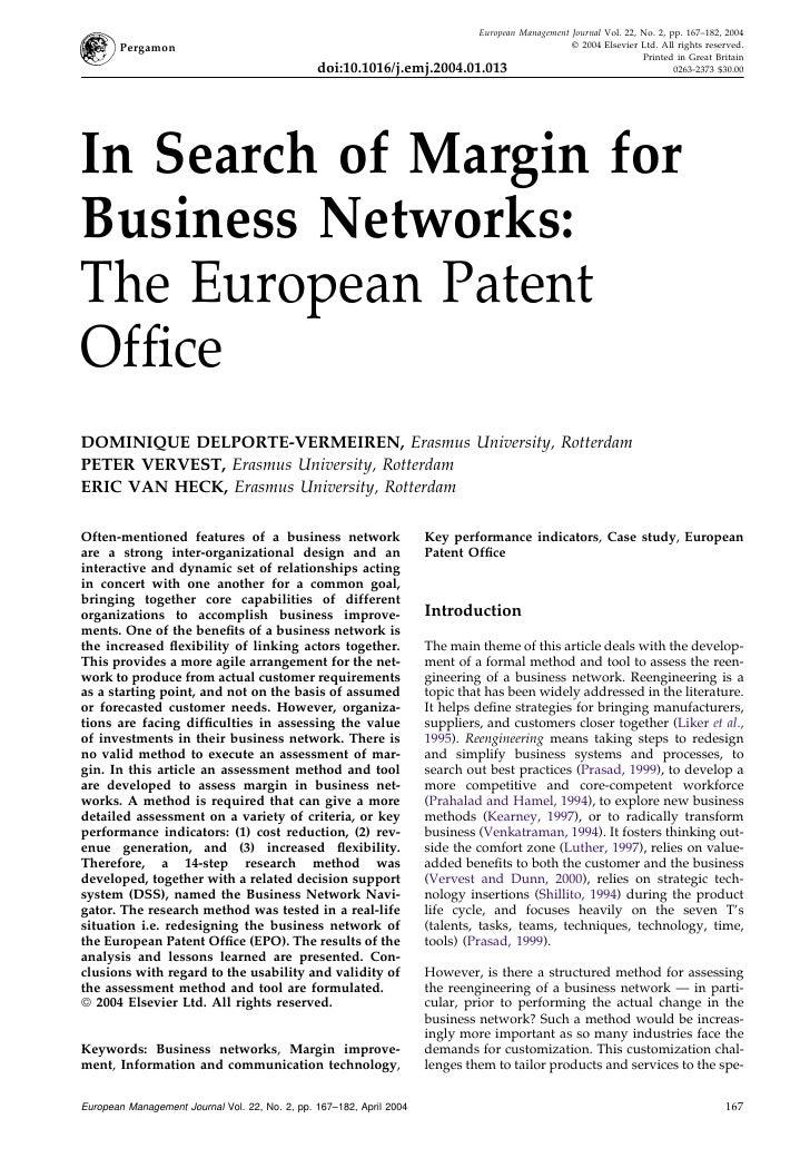 European Management Journal Vol. 22, No. 2, pp. 167–182, 2004        Pergamon                                             ...