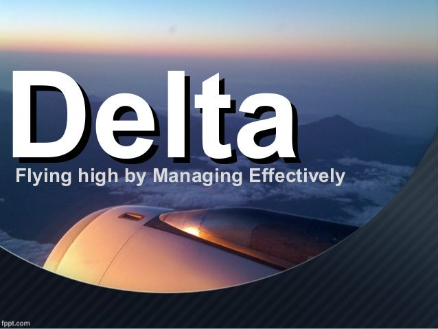 case study of delta airlines