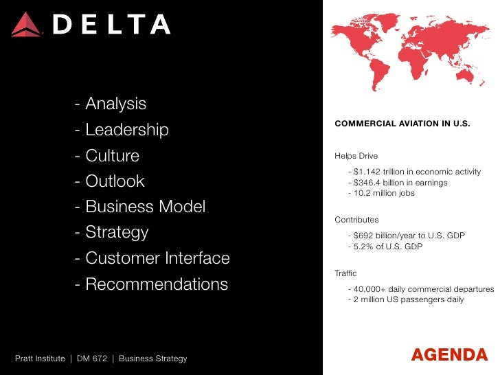 Delta Airlines Business Strategy