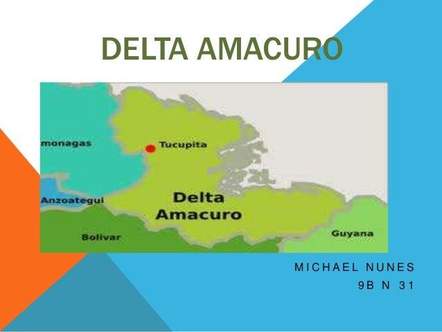 DELTA AMACURO          MICHAEL NUNES                9B N 31