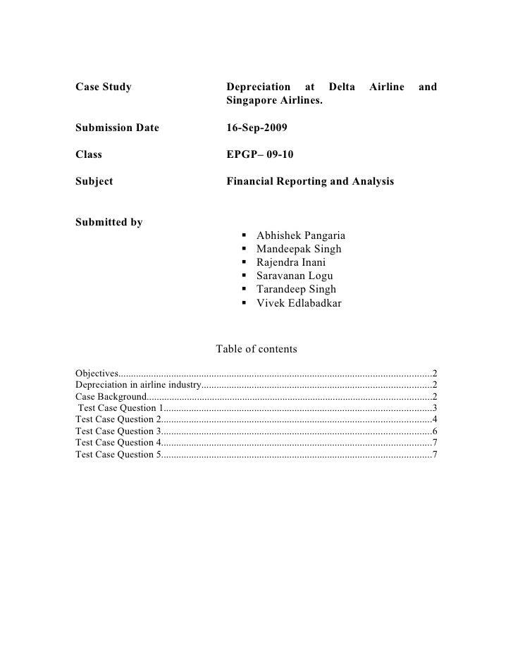 HBR Delta Case Analysis plar biz PLAR BIZ College Graduate Resume ...