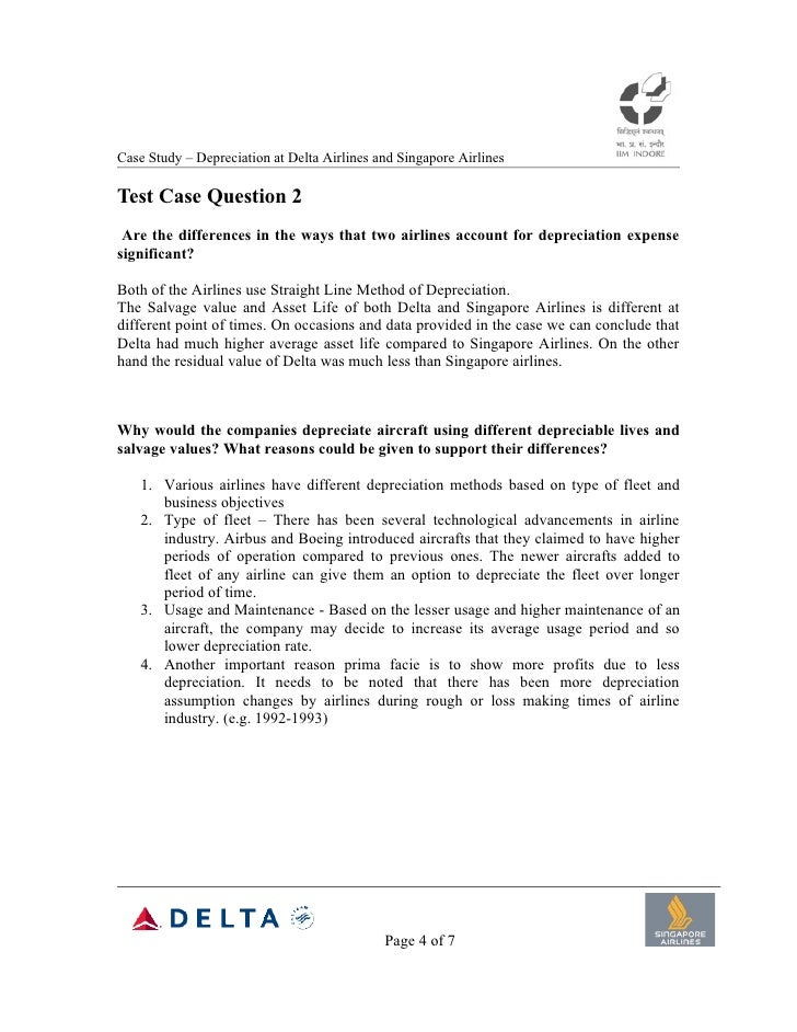 A Case On Singapore Airlines | Case Study Solution | Case ...
