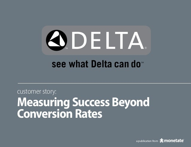 a publication fromcustomer story:MeasuringSuccessBeyondConversionRates