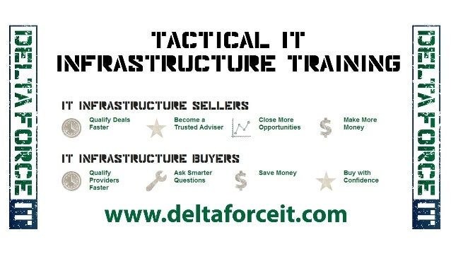 DeltaForce IT Tactical Infrastructure Training For Buyers And Sellers
