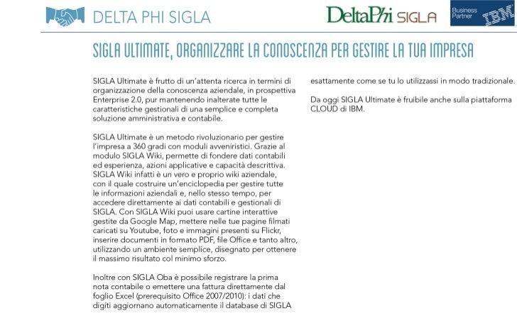 Delta Phi SIGLA a SMAU Milano