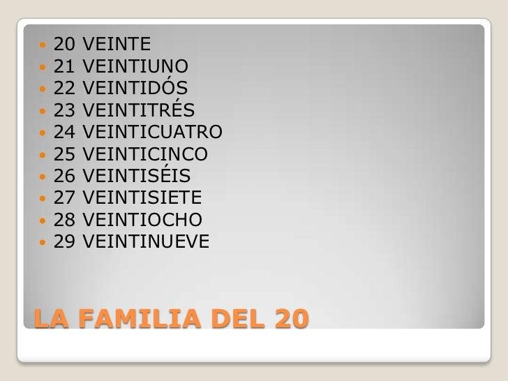 21 in spanish veinte y uno or veintiuno