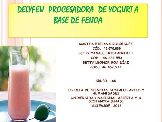 Delyfeij procesadora de_yogurt_a_base_de_feijoa