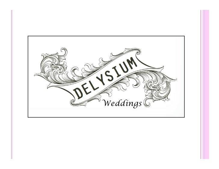Delysium Weddings 2010