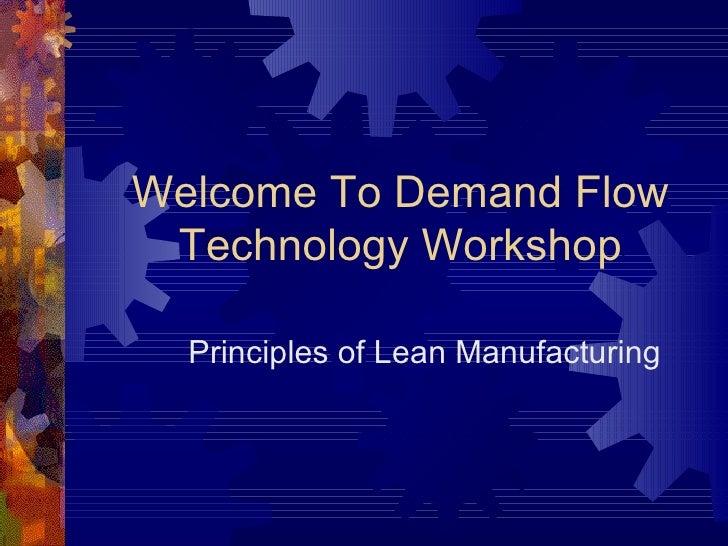 Demand Flow Technology: learnsigma.com