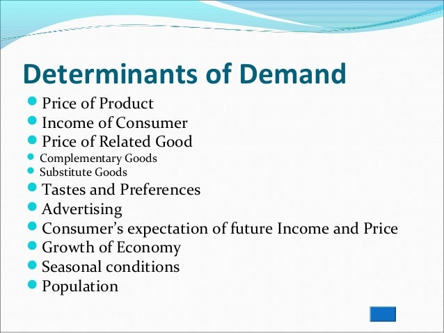 analysis of demand Now it is time to focus on the more qualitative side of the market analysis by looking at what drives the demand market need this section is very important as it is where you show your potential investor that you have an intimate knowledge of your market.