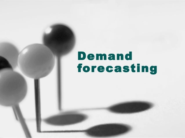 Demand forcasting