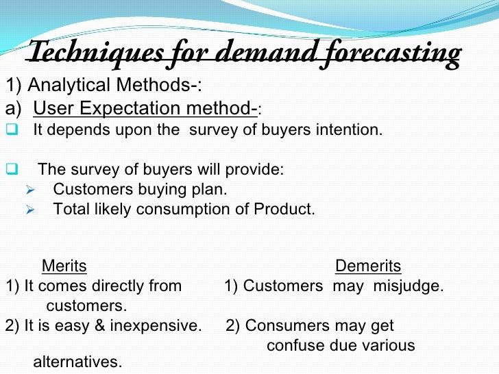 Demand Forecasting Examples Demand Forecasting Refers to