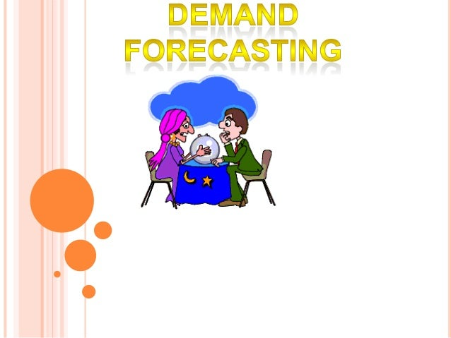 Demand forecasting is an estimation of sales inmoney or physical units for a specified futureperiod under a proposed marke...