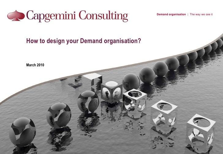 Demand Organisation 2010