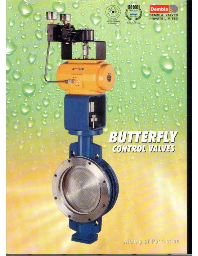 Dembla control butterfly valve