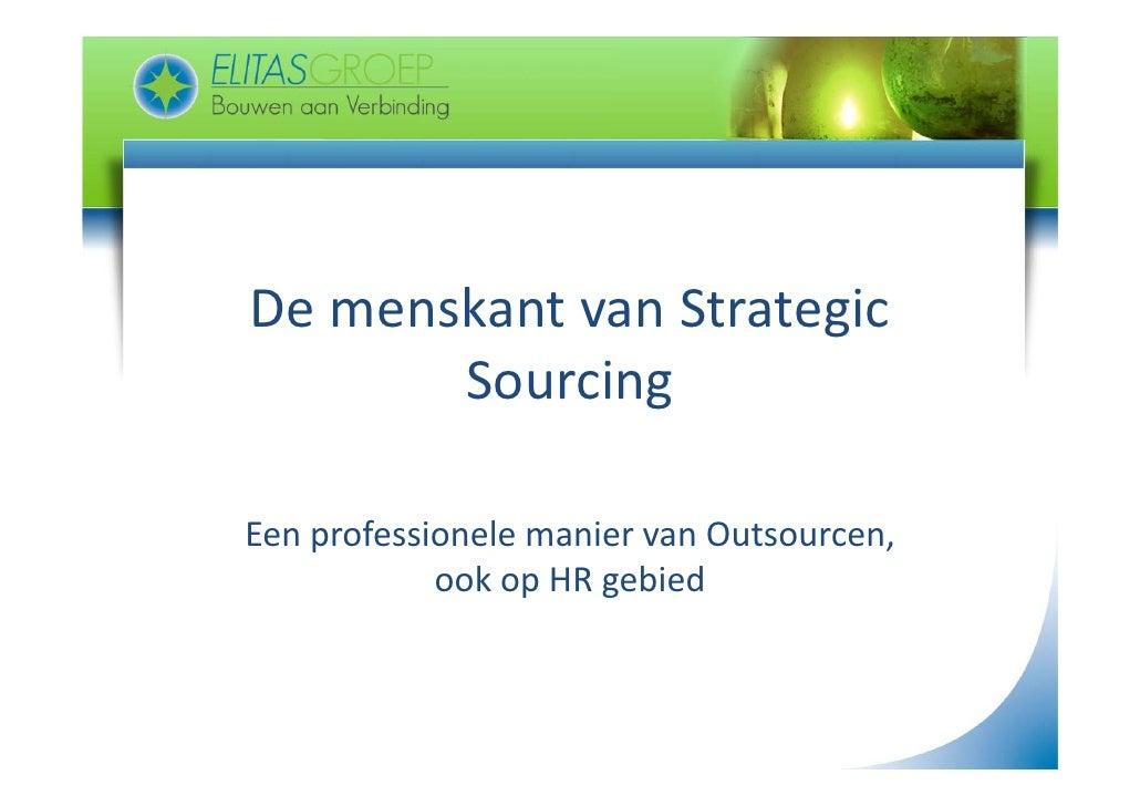 DemenskantvanStrategic De menskant van Strategic        Sourcing               g  EenprofessionelemaniervanOutsour...