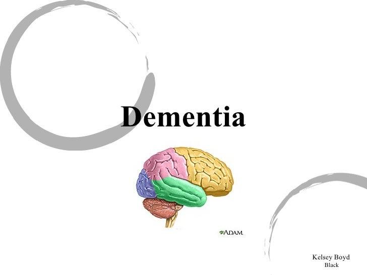 Dementia Kelsey Boyd Black