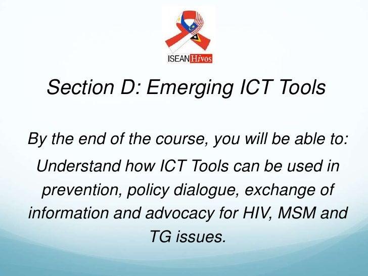 D) Emerging ICT Tools