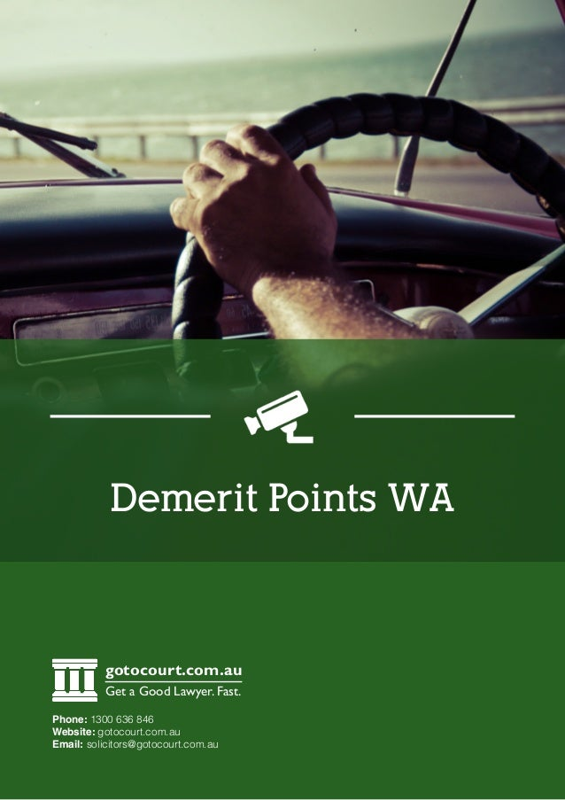 how to get rid of demerit points