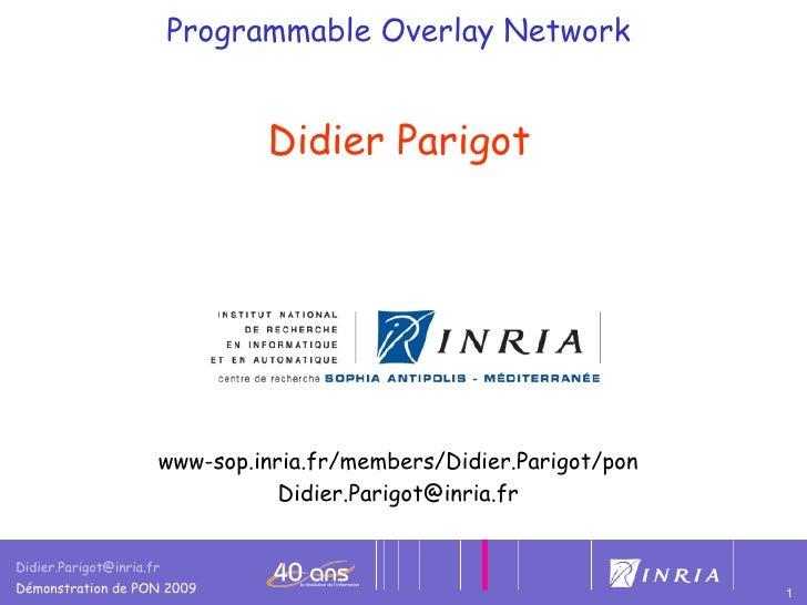 Programmable Overlay Network