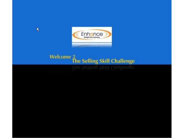 Demo: Selling Challenge