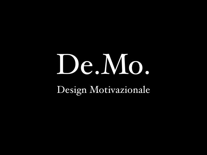 De.Mo. - Better Software 2009