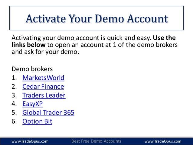 google binary options demo account uk