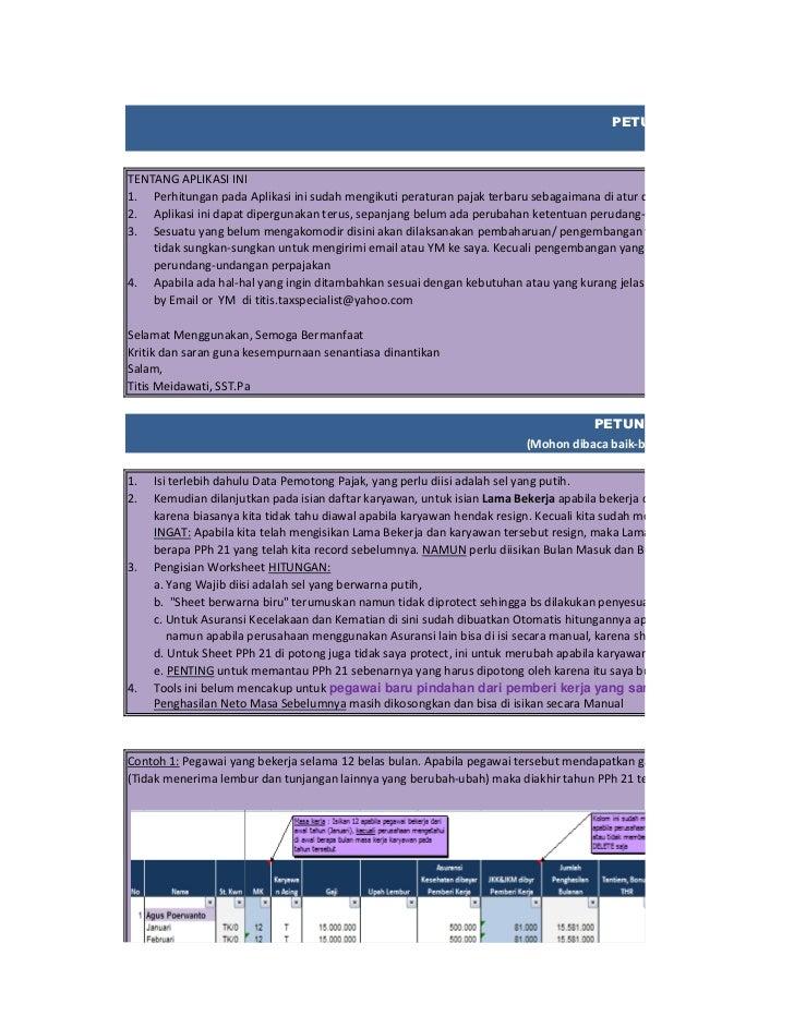 Demo aplikasi payroll 7 sheet