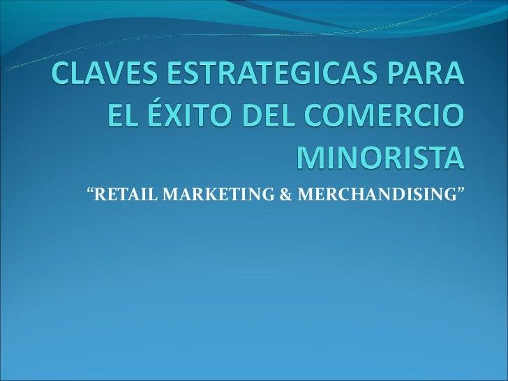 Demo claves estrategicas del retail