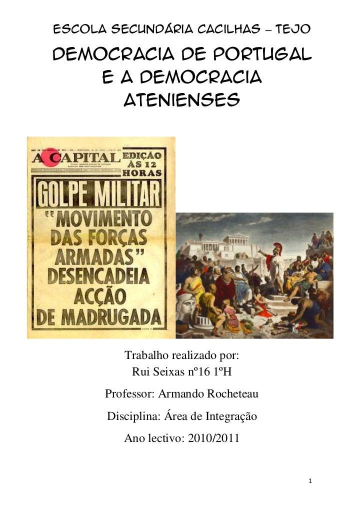 Democracia de portugal_e_a_democracia_atenienses