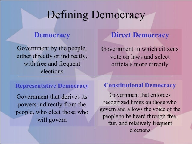 an analysis of limitations to democracy The literal meaning of democracy is 'the power of the people'  do their utmost  and continuously test the limits of the socially acceptable.