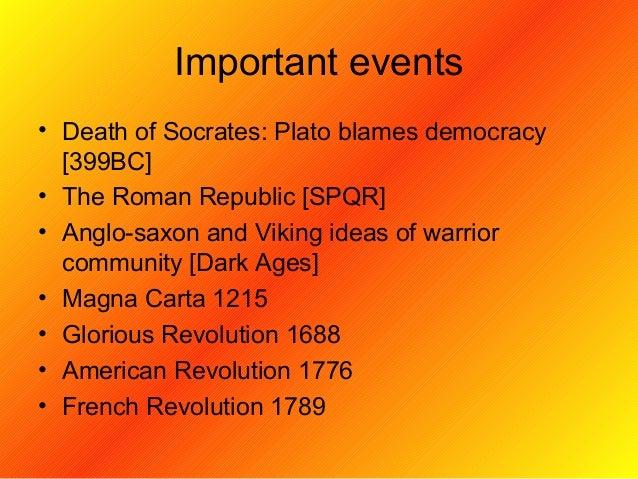 Democracy American Revolution 1688 • American Revolution