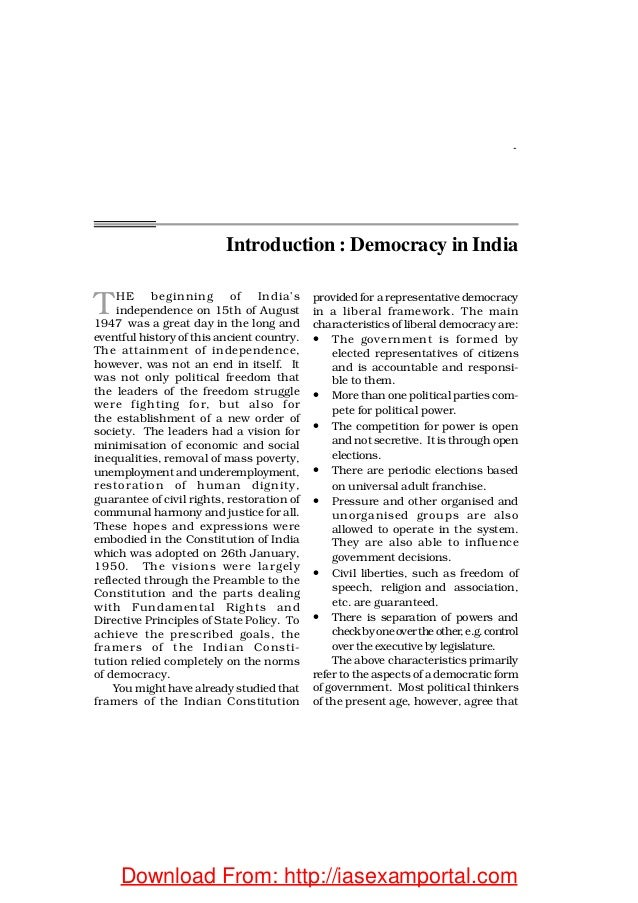introduction to communalism in india Indigenous modernities: nationalism and communalism in colonial india  introduction in orientalism, said claimed that orientalism is premised upon exteriority, that is, on the fact that 'the orientalist poet or scholar, makes the orient speak.