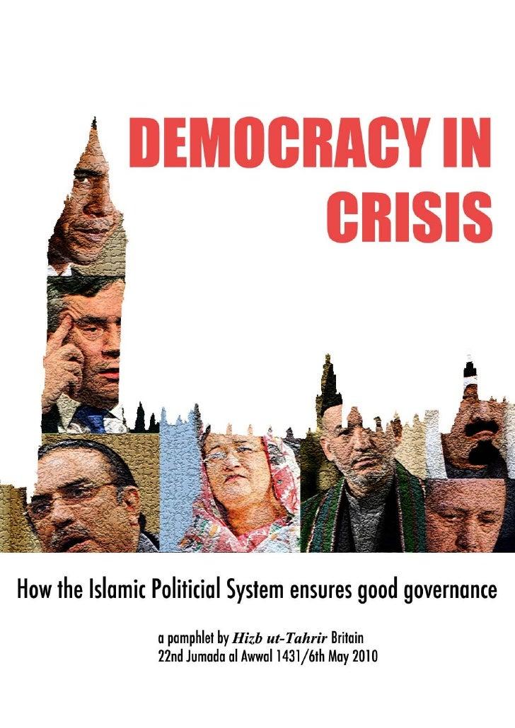 Democracy in crisis
