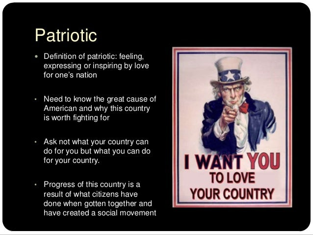 patriotism love of the country essay