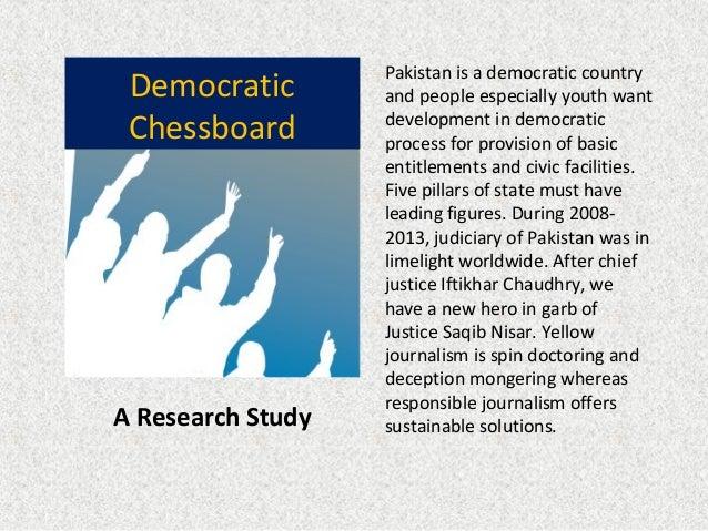 Democratic Chessboard A Research Study democracy