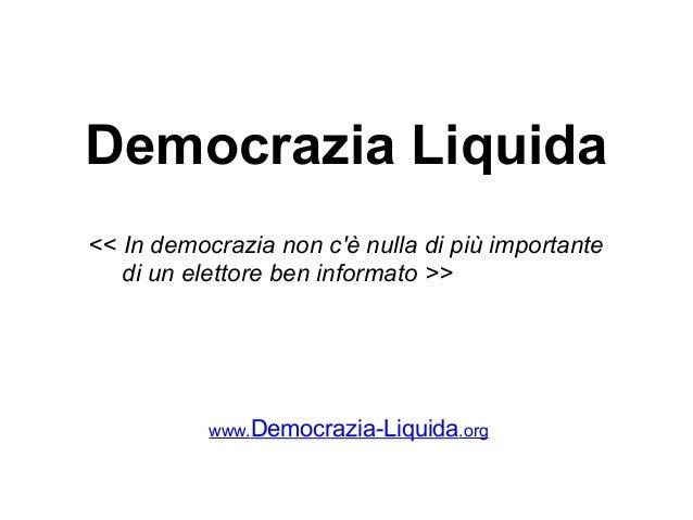 Democrazia liquida slideshow-01