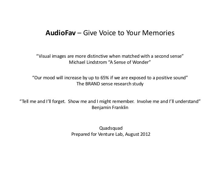 """AudioFav– GiveVoicetoYourMemories            AudioFav Give Voice to Your Memories        """"Visualimagesaremoredist..."""