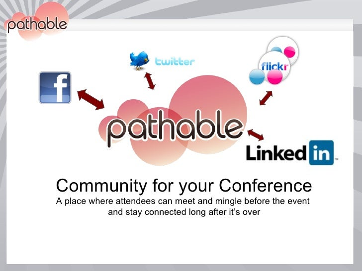 Pathable: A Social Network for Conferences and Events