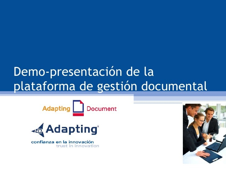 Demo Gestor Documental Adapting Document