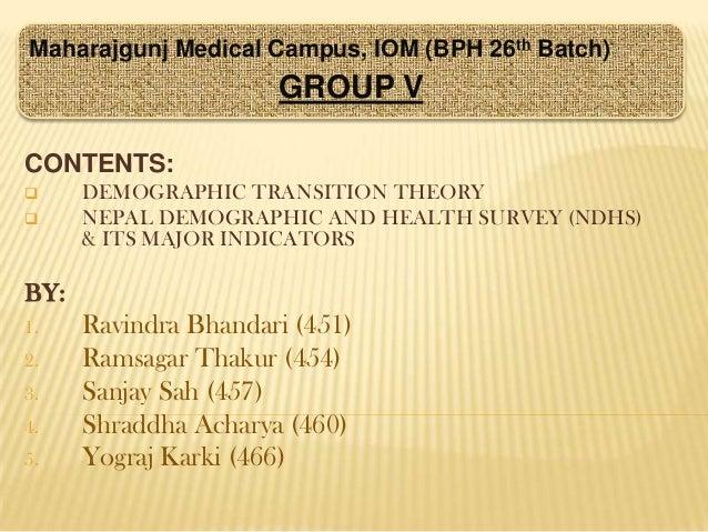 Shraddha Acharya_Demographic transition theory n NDHS