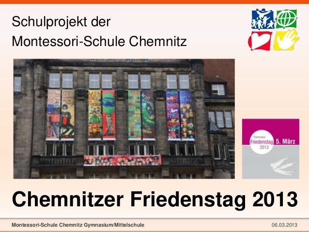 Demokratie-Projekte aus Schulen in Sachsen - Montessori-Schule Chemnitz