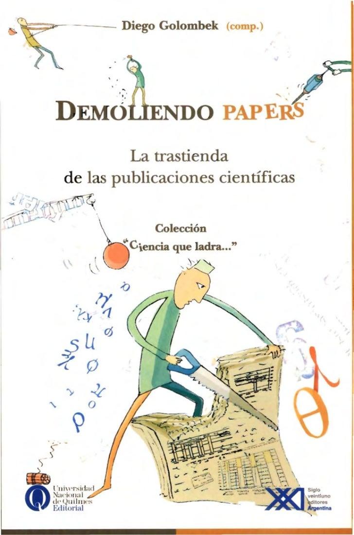 ~                           - -                     Diego Golombek             (com p.)                                   ...