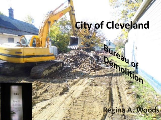 City of Cleveland      Regina A. Woods