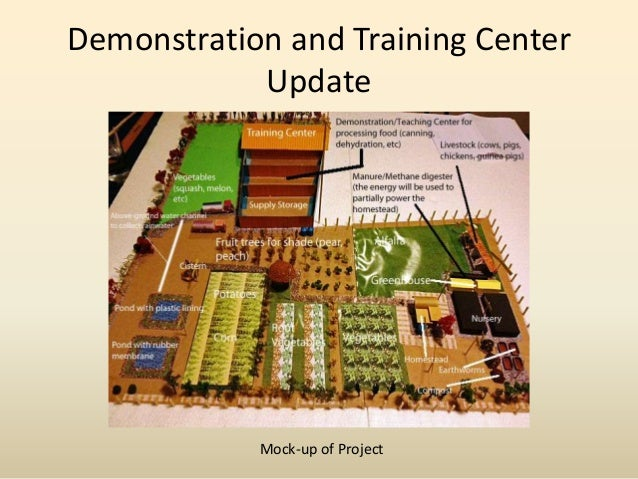 Demonstration and Training Center Update_Mid-Feb 2013