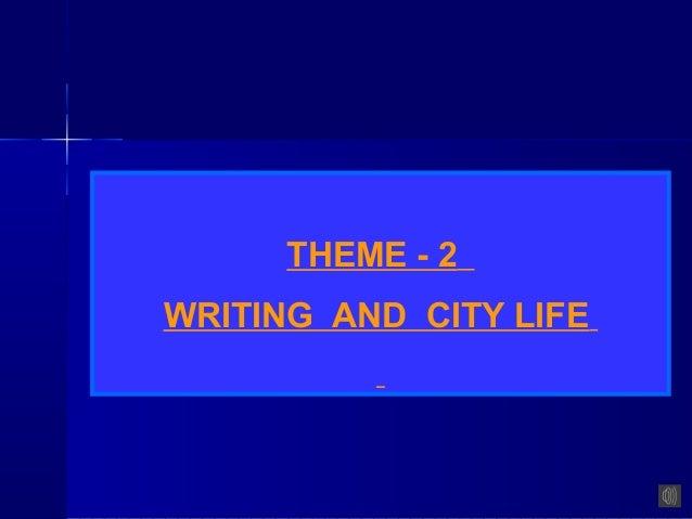 of city life essay of city life